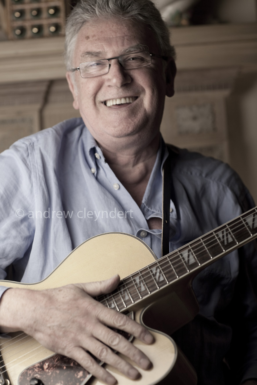 Jim Mullen, Jazz Guitarist, photograph, portrait