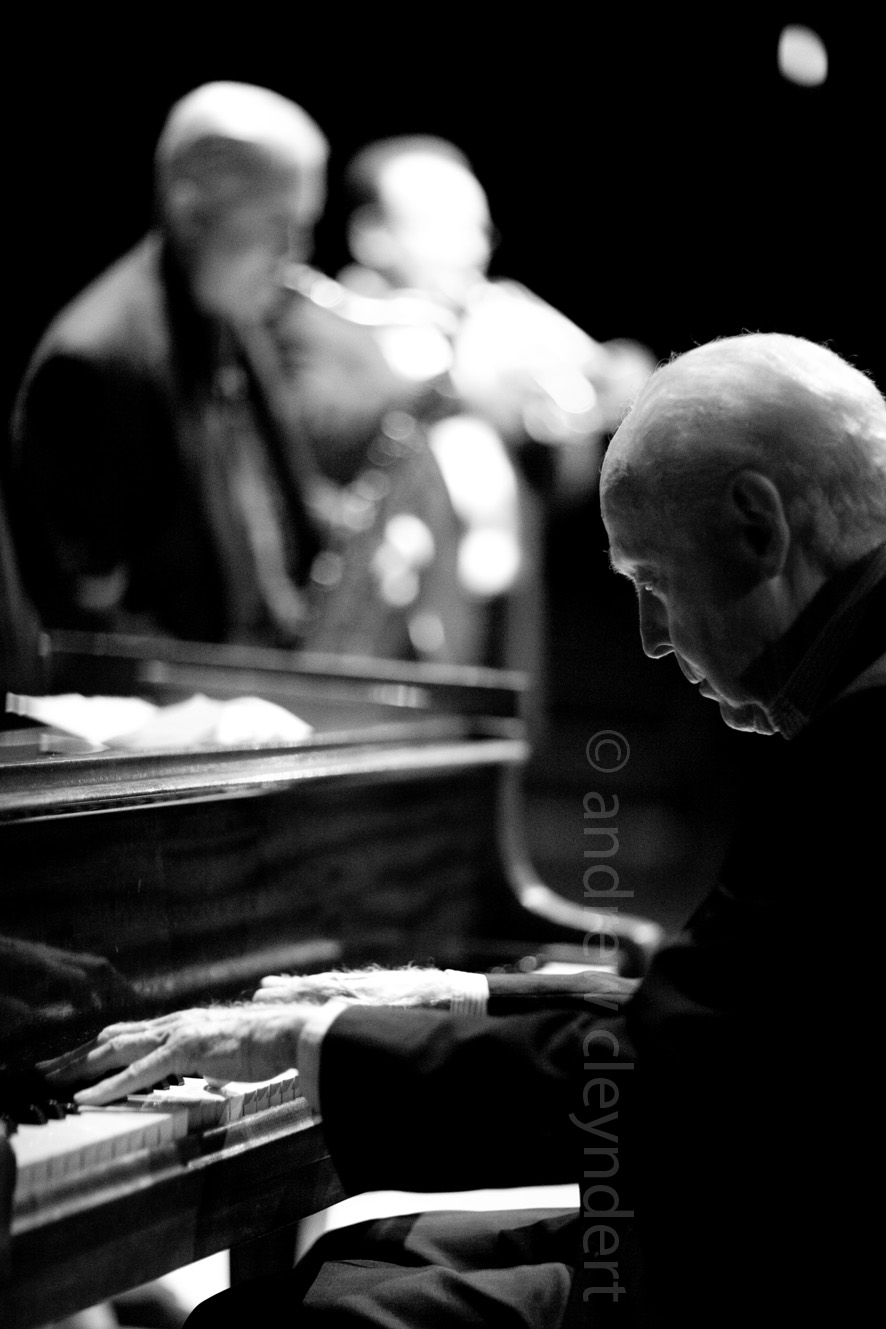 John Bunch, Jazz Pianist, Photograph, Portrait