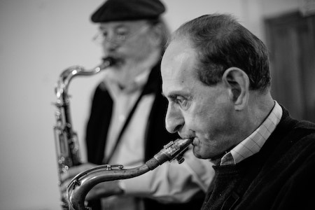 BOBBY WELLINS and Don Weller - Jazz  Saxophonists